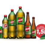 Lançamento: embalagem de 1,5 litro do Fruki Guaraná / Divulgação - Fruki